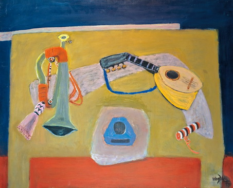 Still Life with Trumpet and Guitar