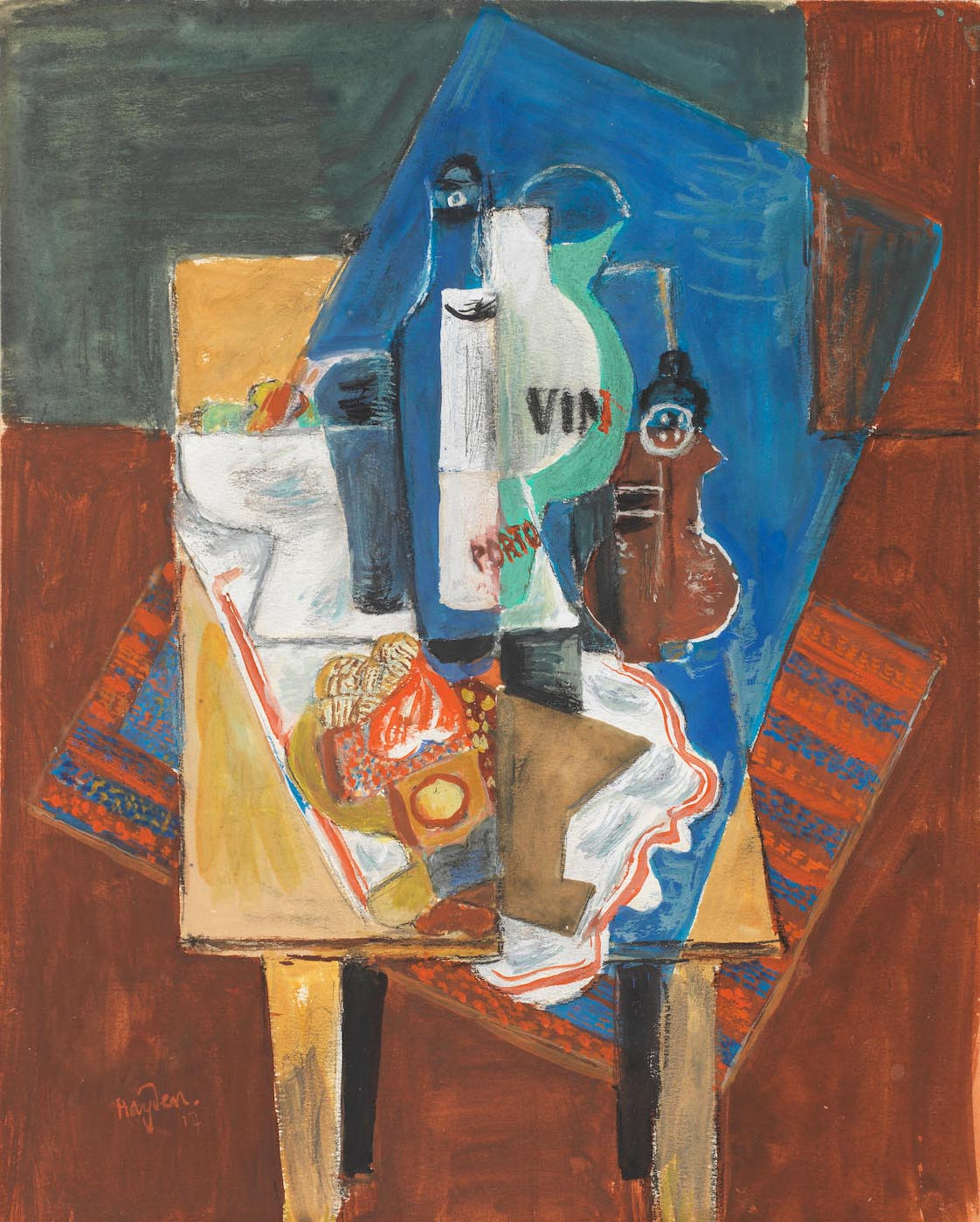 Still Life with Port