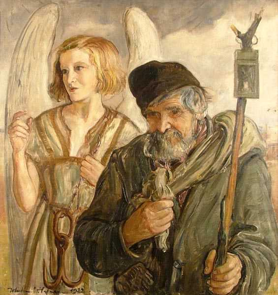 Angel and Old Man