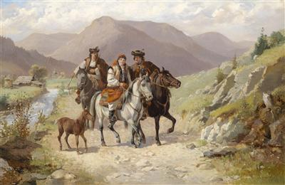 Riders Returning Home