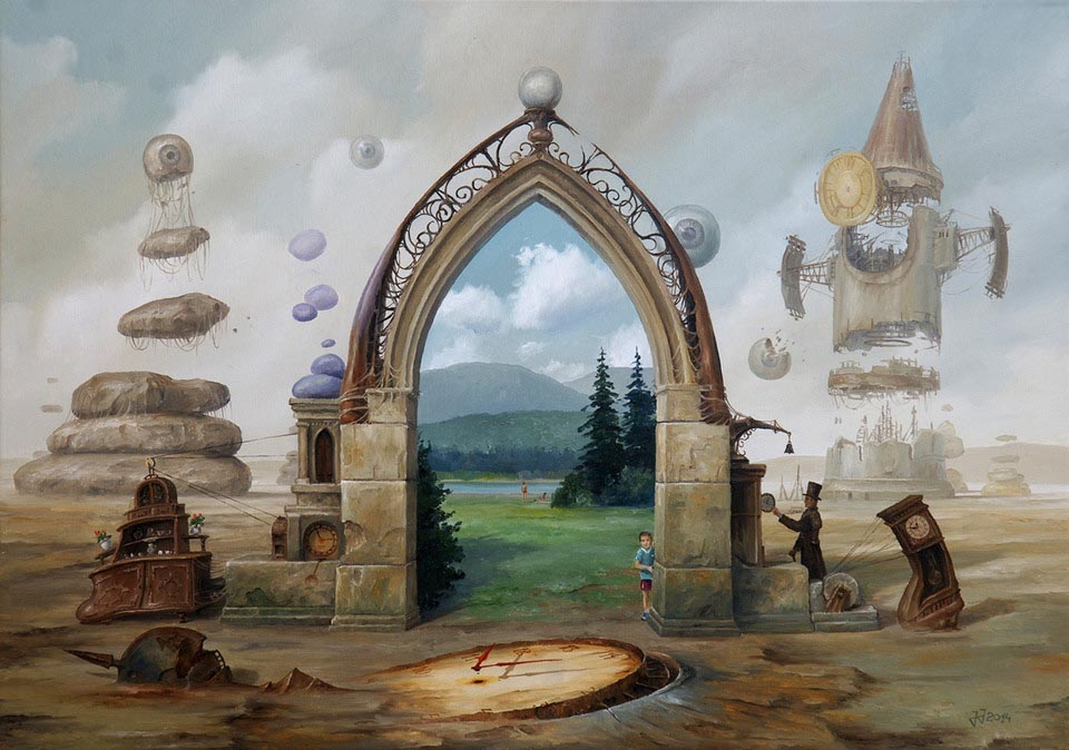 Gate to the Parallel Worlds