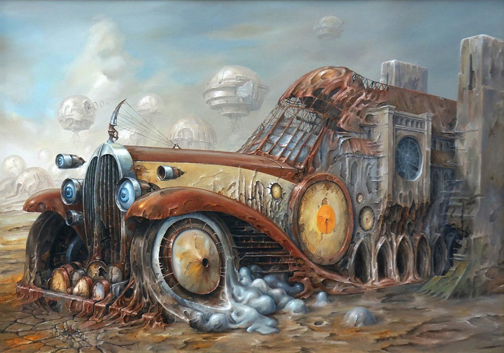 Aged Vehicle of Time