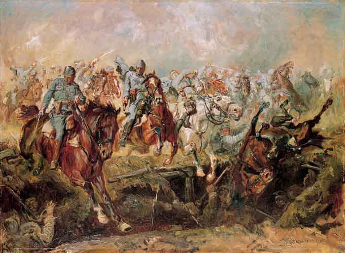 Charge at Rokitna