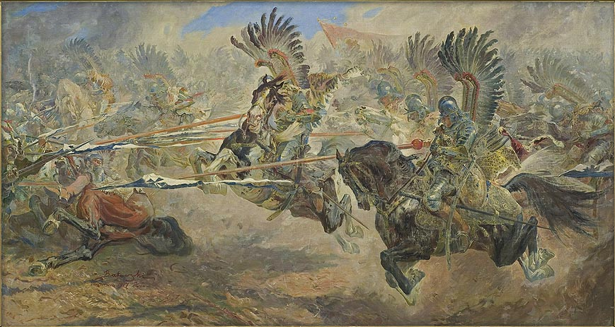 Attack of the Hussars. Khotyn