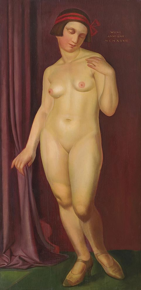 Nude with a Red Ribbon