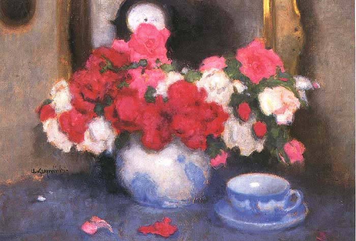 Still Life with a Bouquet of Roses