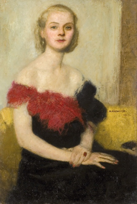 Portrait of Elzbieta Kossak