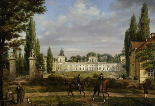 View of Wilanow Palace