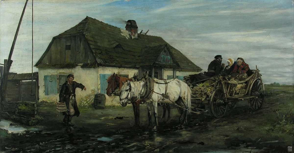 Jews in Front of an Inn