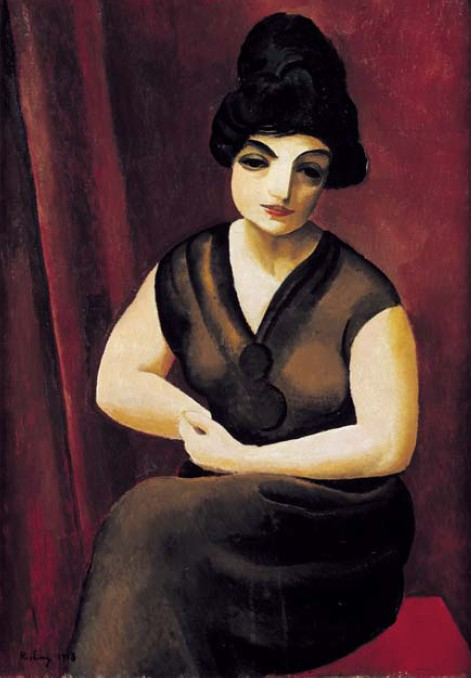 Brown Woman (Femme brune assise)