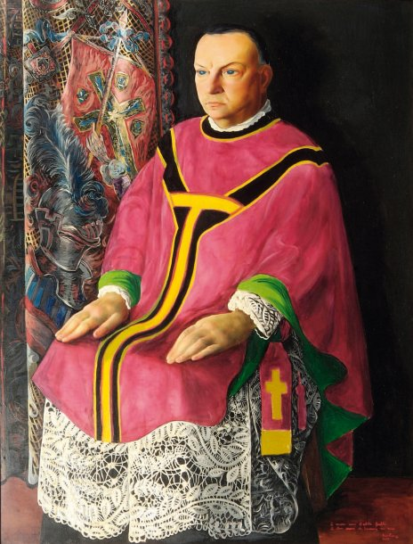 Portrait of Father Galli