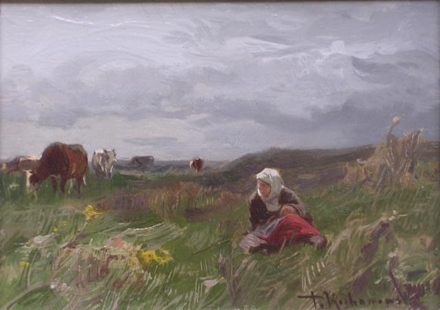 On a Pasture