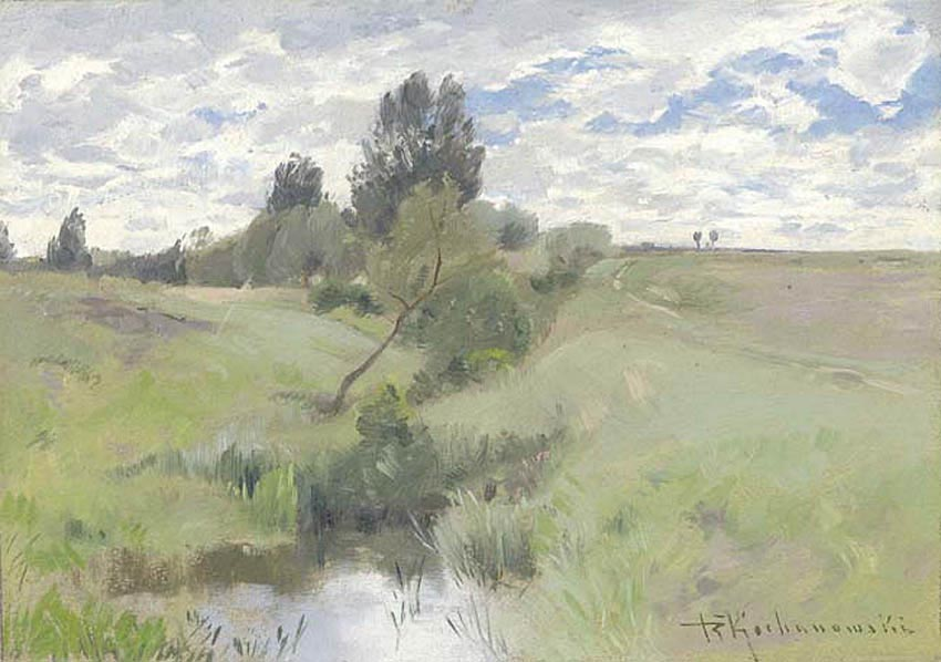 Landscape with a Wet Meadow