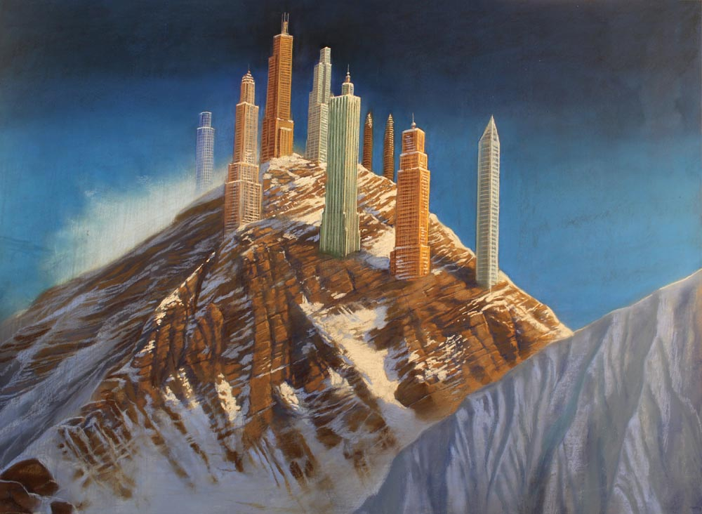 Skyscrapers on Mount Everest