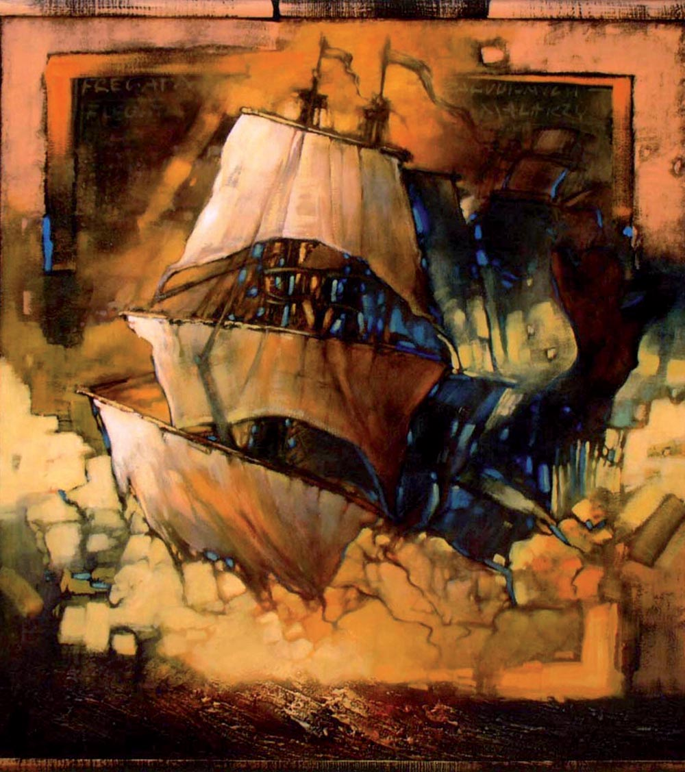 Frigate of Unfaithful Painters