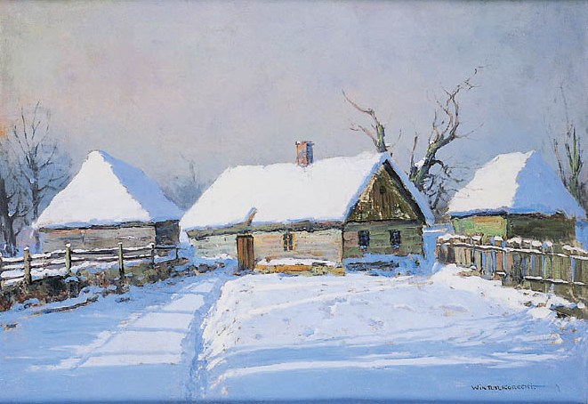 Cottages in Snow