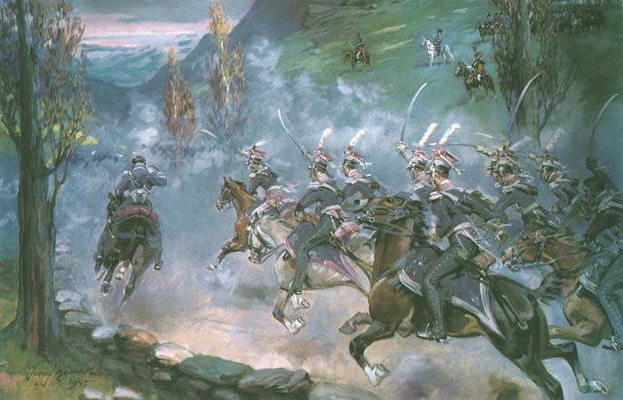 Charge of the Polish Light Horse at Somosierra