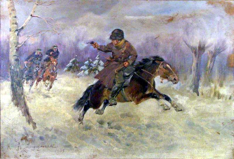 Pursuit, an Episode in 1920 War