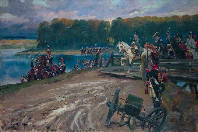 River Crossing by Napoleon