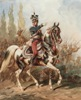 General Jan Henryk Dabrowski in Front of the Polish Legions