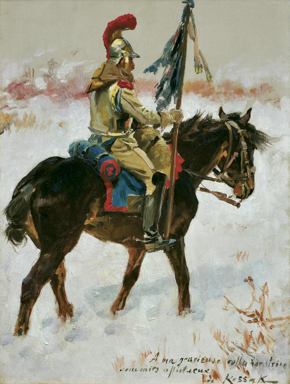 Cuirassier on the Snow