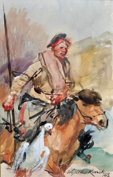 Cossack on Horseback