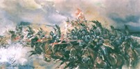 Charge of the Winged Hussars at the Battle of Kircholm