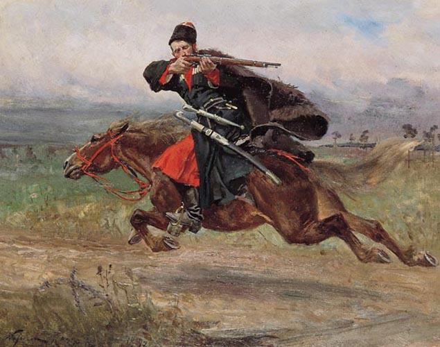 Soldier Galloping