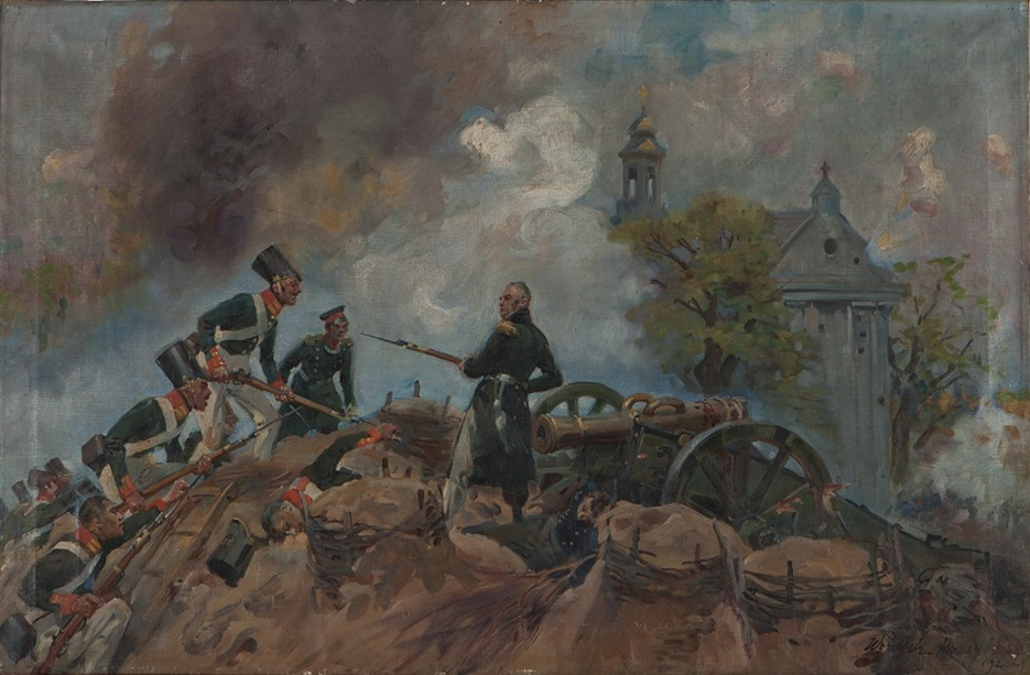 General Josef Sowiński in Battle