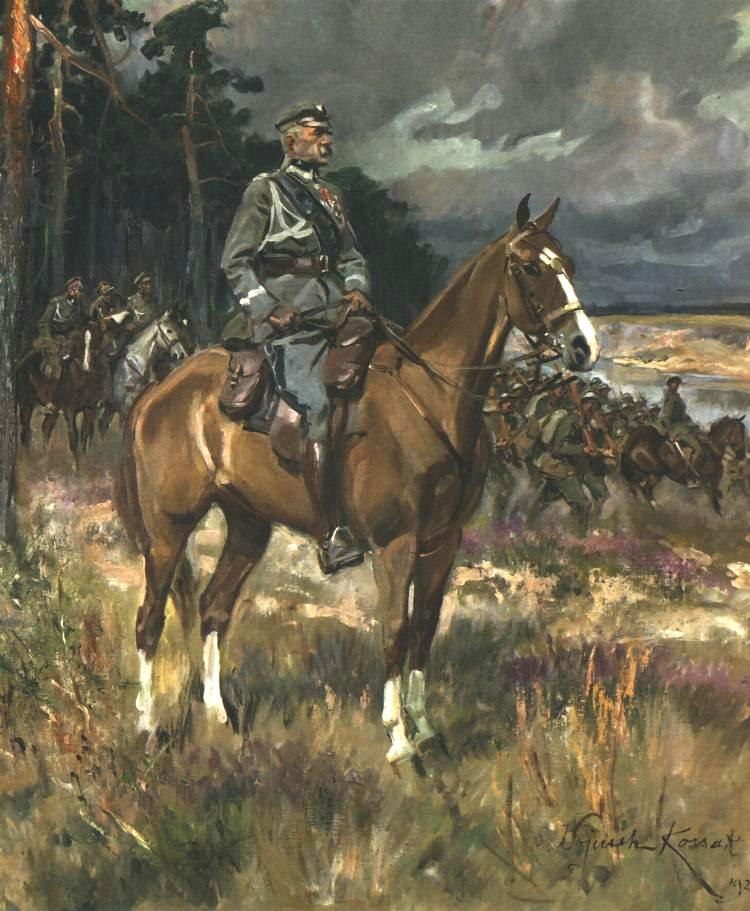 Pilsudski on Horseback