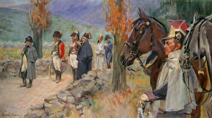 Before the Charge at Somosierra