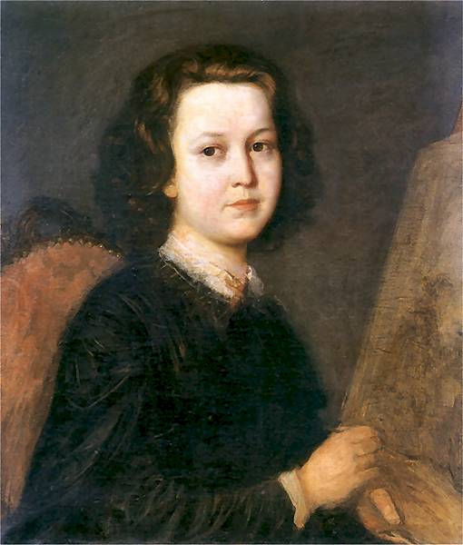 Portrait of the Painter Jozefina Geppert