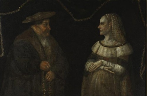 Portrait of Catherina and Gregory Przybylo