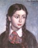 Portrait of a Girl with Braids