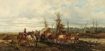 Cossacks on a Country Road