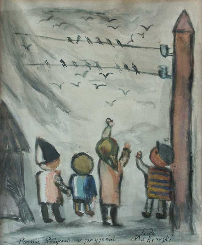 Children and Swallows