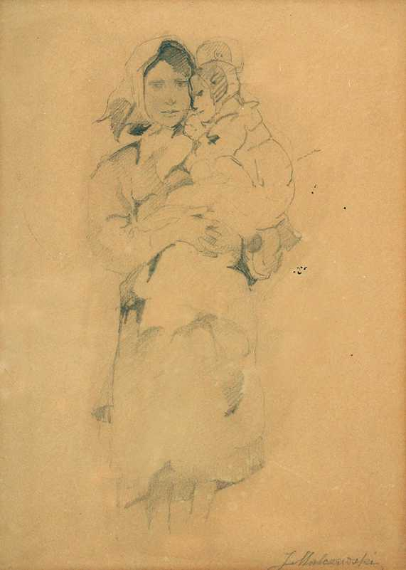 Woman Carrying a Child