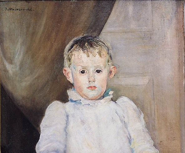 Portrait of Rafal, the Artist's Son
