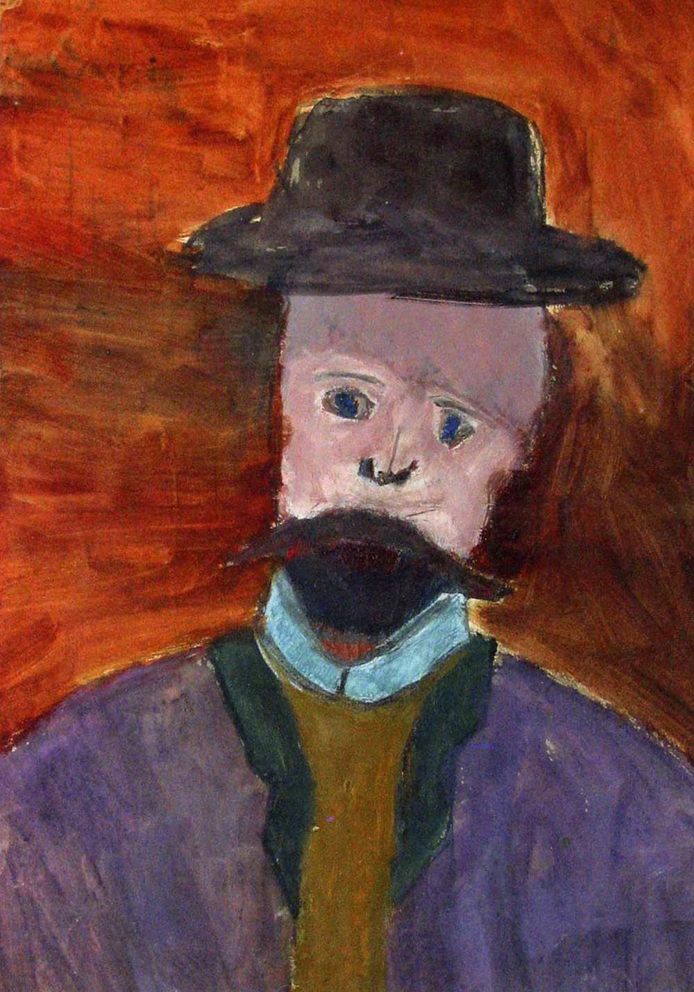 Portrait of a Man in a Hat (Portrait of the Artist's Father)