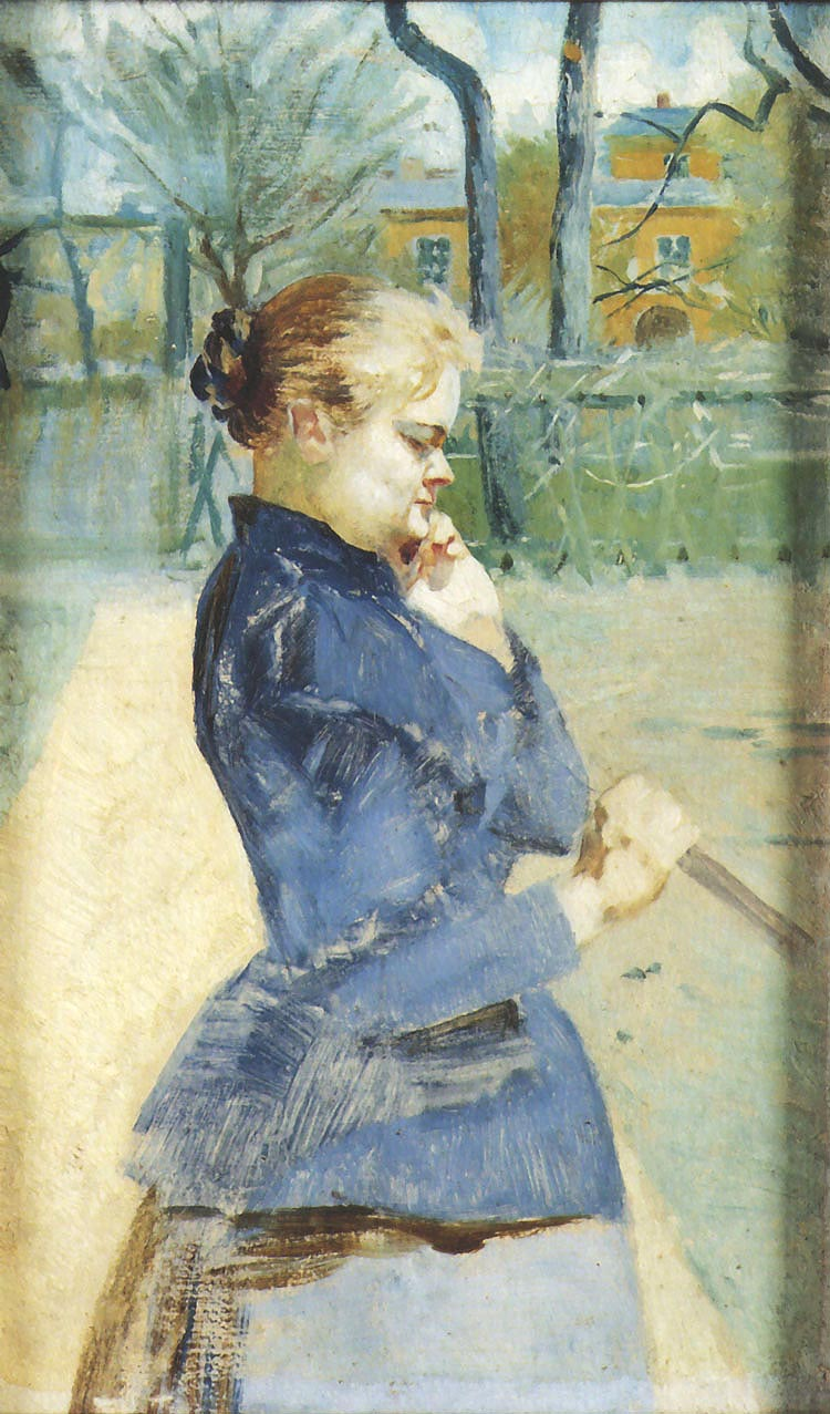 Portrait of Helena Karczewska, the Artist's Sister