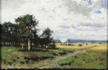 Summer Landscape with Harvesters