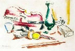 Still Life with a Violin and Bow (Nature morte au violon et archet)