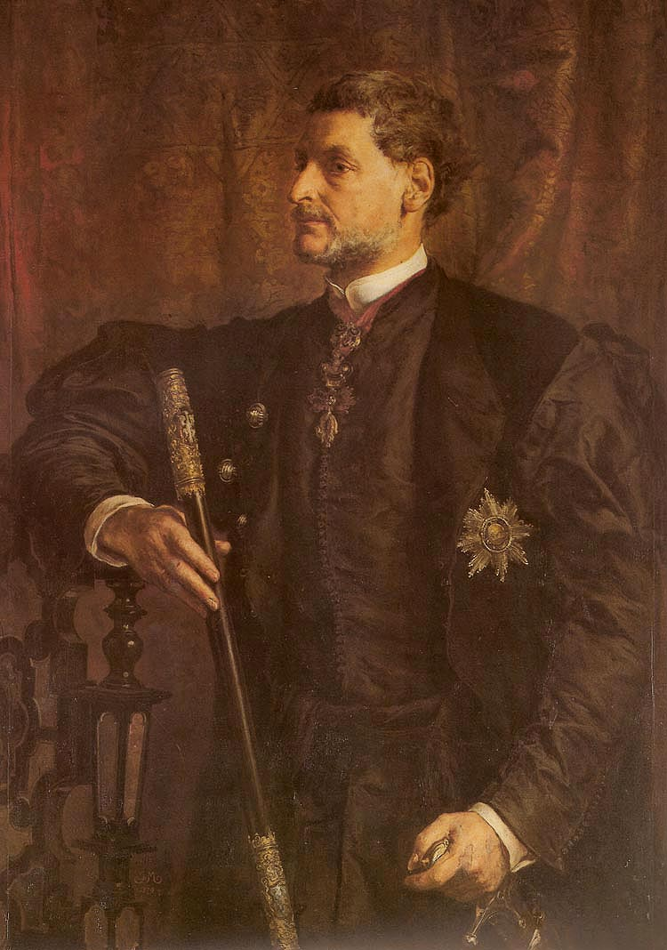 Portrait of Alfred Potocki