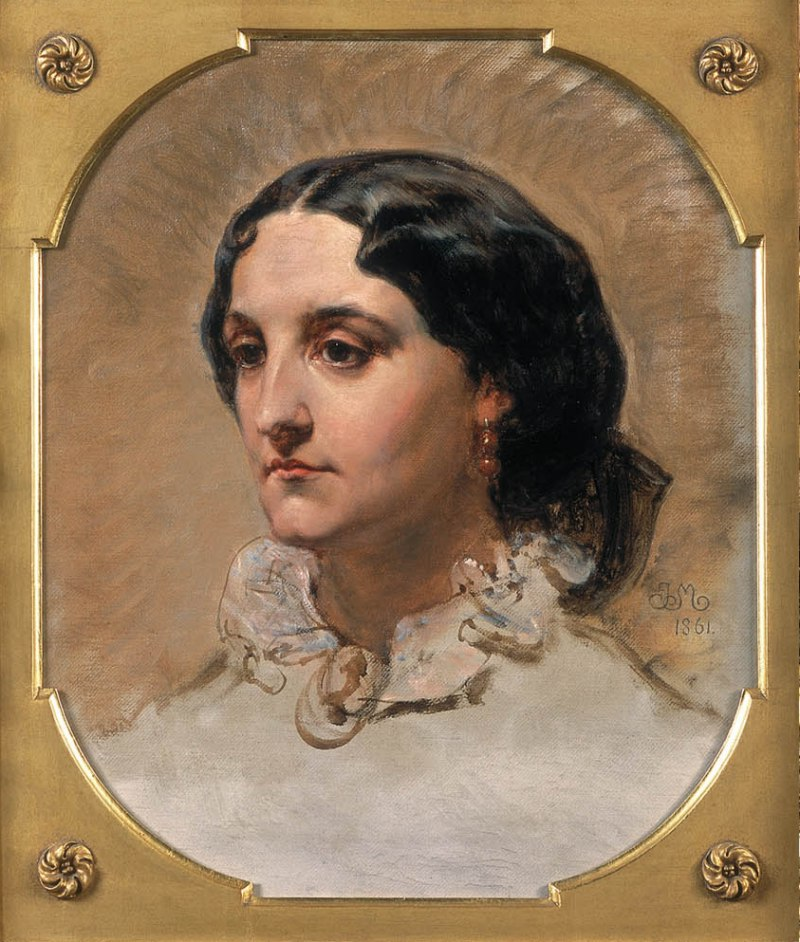 Portrait of Miss Dybowska