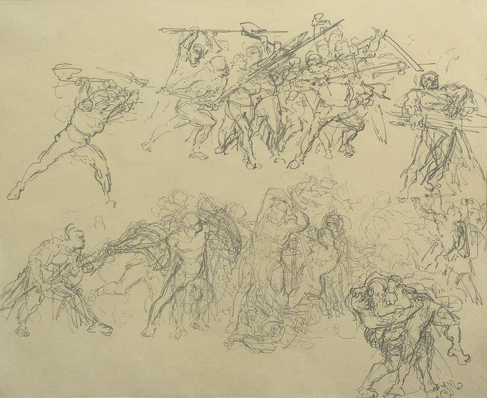 Study of Fighting Men