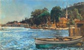 View of Bebek near Constantinople