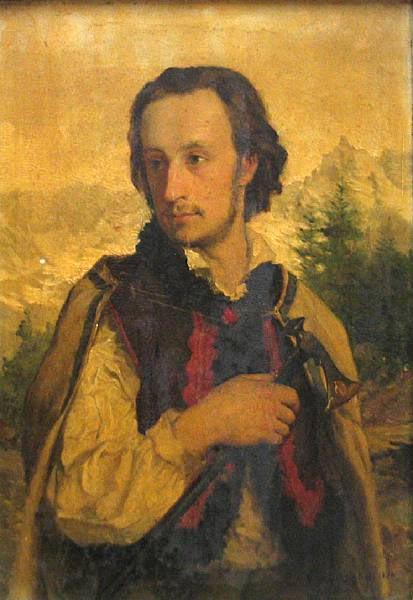 Portrait of Ralph Modjeski, Dressed as a Polish Mountaineer
