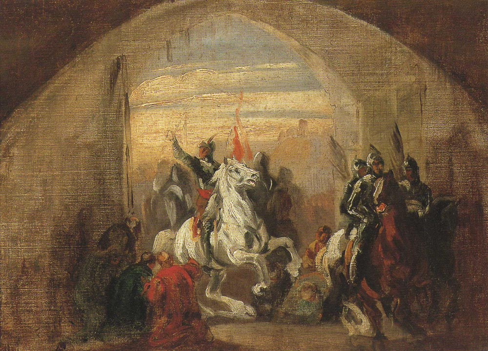 King Boleslaus the Brave Entering Kiev