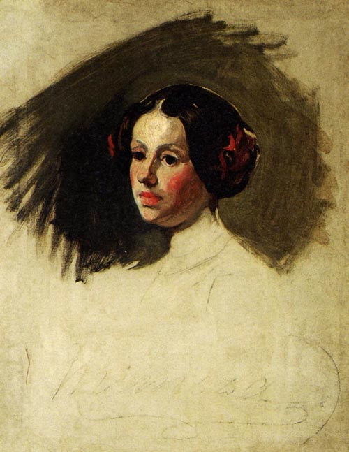 Portrait of Maria Michalowska