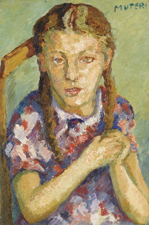 Young Girl with Braids (Jeune fille aux tresses)